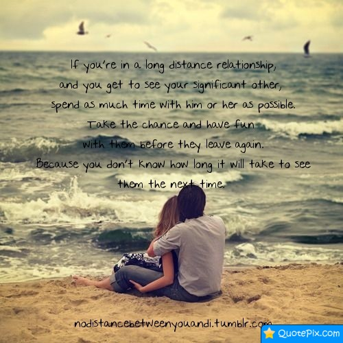 Inspirational Long Distance Relationship Quotes. QuotesGram
