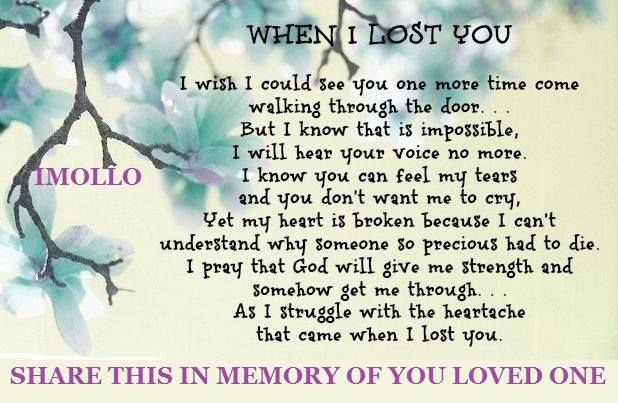 Memories Lost Loved Ones Quotes : Quotes About Memories Of Loved Ones. QuotesGram