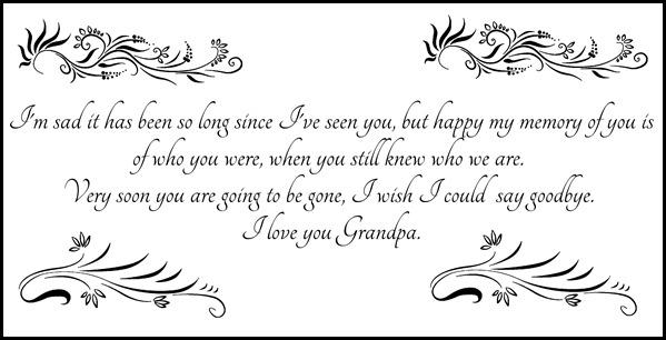 Rip Grandpa Quotes. QuotesGram