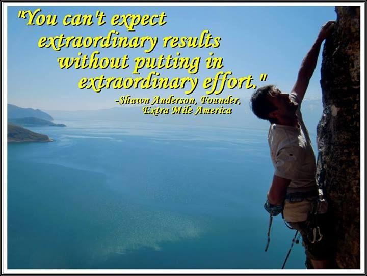 in an effort_Extra Effort Quotes. QuotesGram
