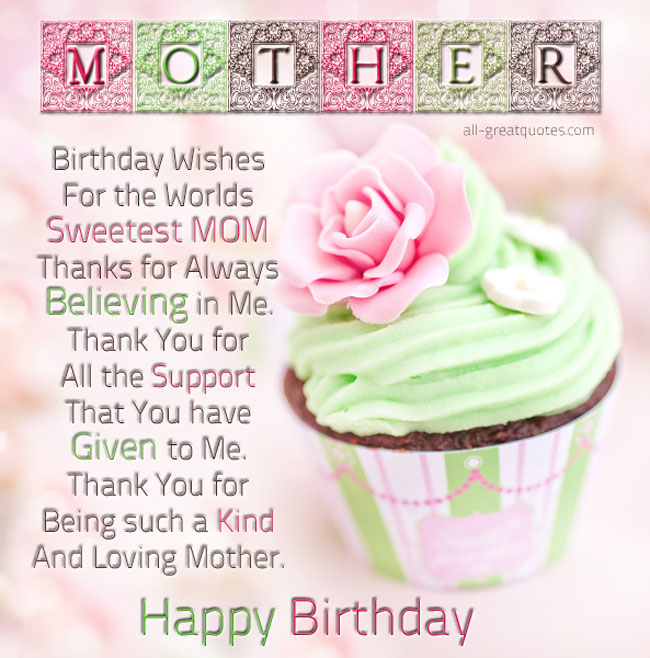 Best Birthday Quotes For Mom: Best Birthday Quotes For Mom. QuotesGram