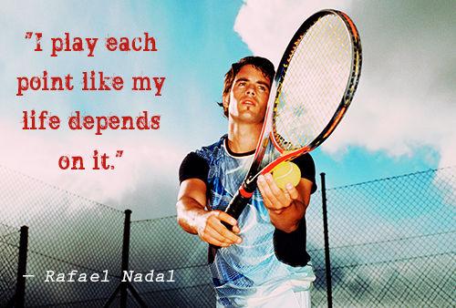 Rafael Nadal Quotes Quotesgram