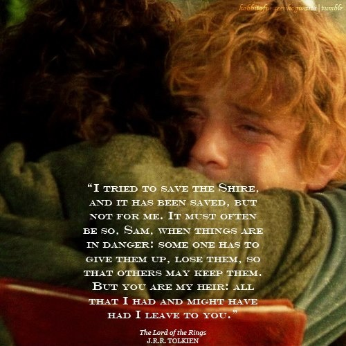 Frodo And Sam Quotes. QuotesGram