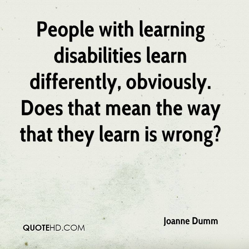 Inspirational Quotes About Positive: Learning Disability Quotes. QuotesGram