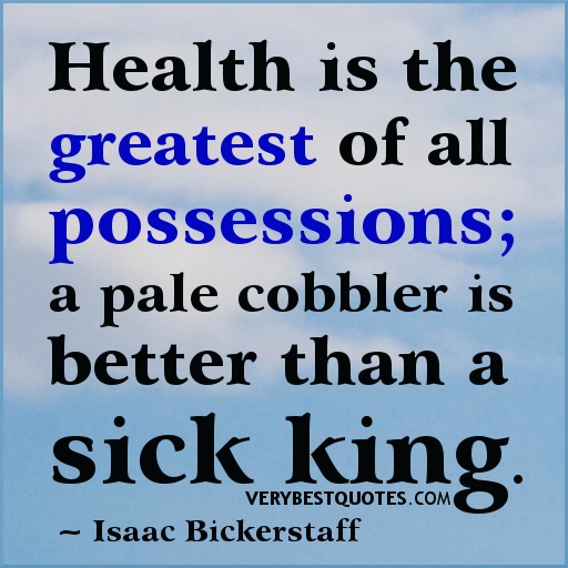 Inspirational Quotes About Health: Quotes About Health. QuotesGram