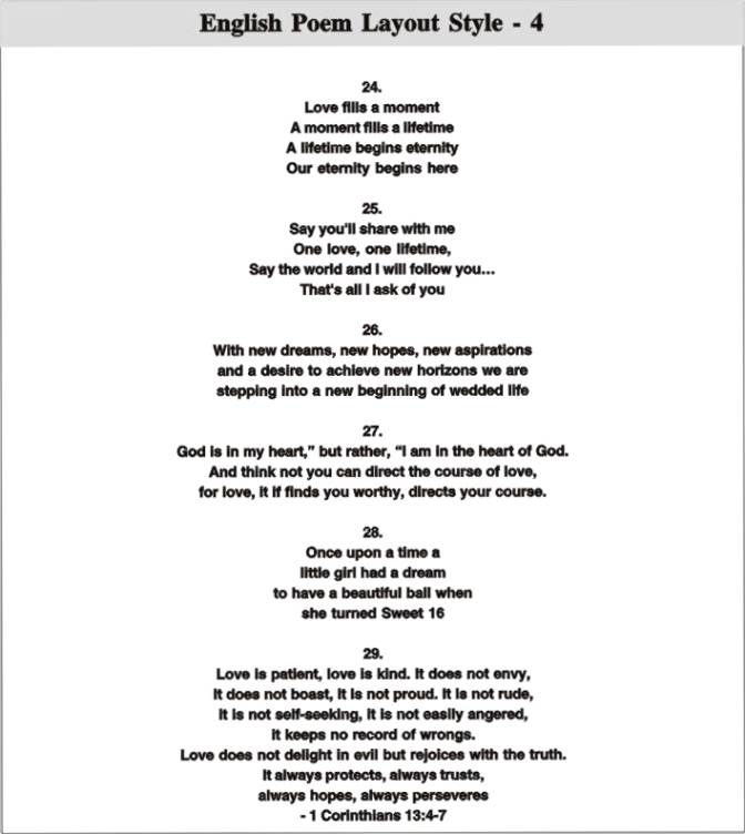 Hindi Poetry For Wedding Cards Wedding Invitation Sample – Wedding Poems for Invitation Cards