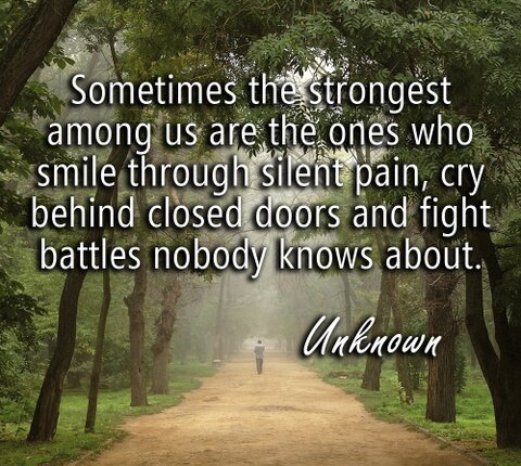 Quotes About Smiling Through Pain
