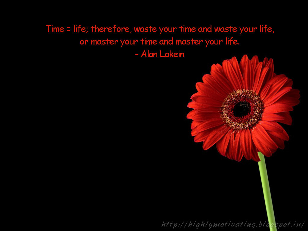 Motivational And Inspirational Quotes Sayings: About Time Management Inspirational Quotes. QuotesGram