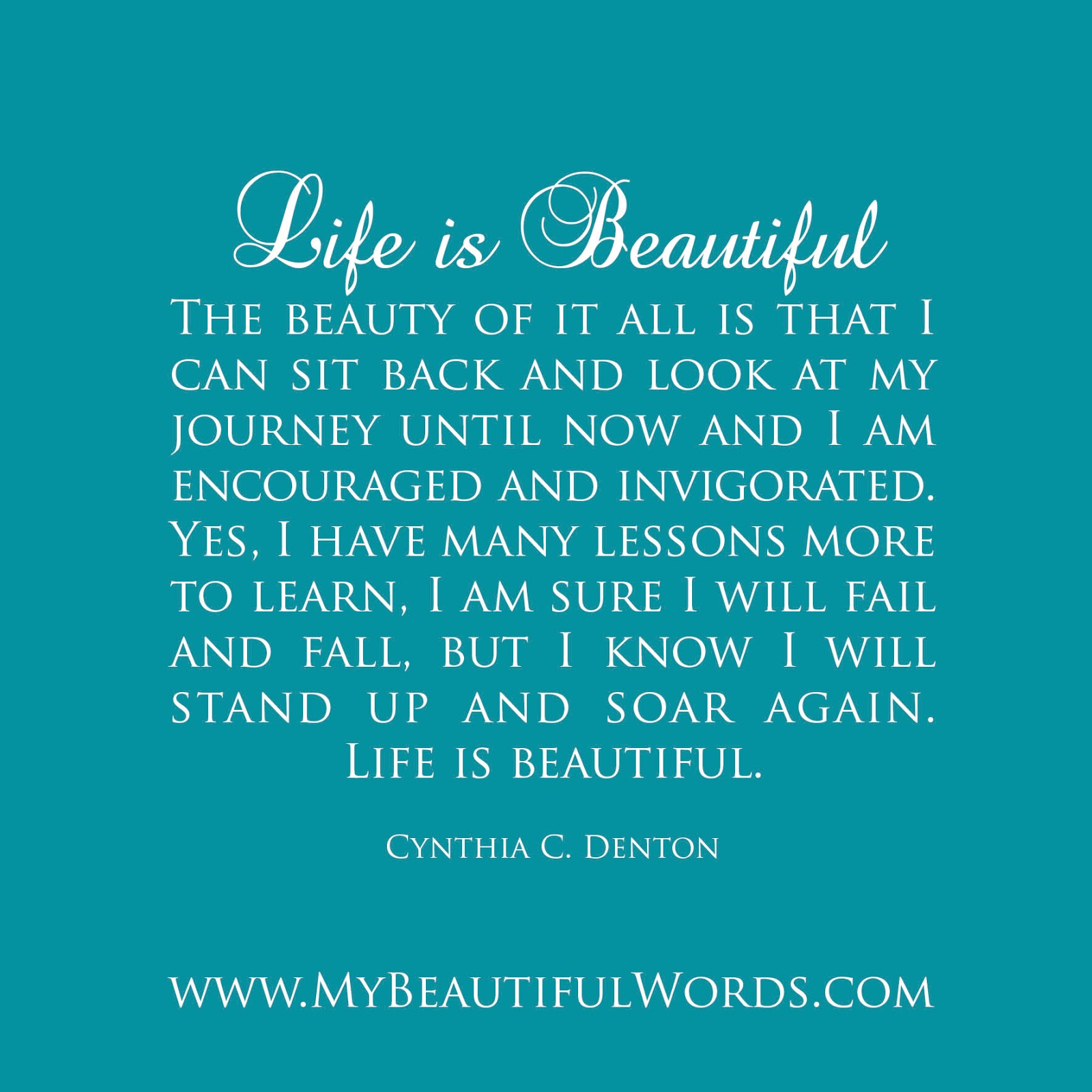 My Life Is Beautiful Quotes. QuotesGram