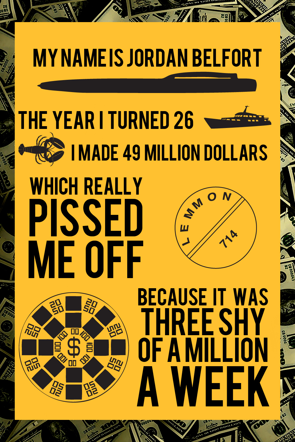 Quotes On Money Wolf Of Wall Street. QuotesGram