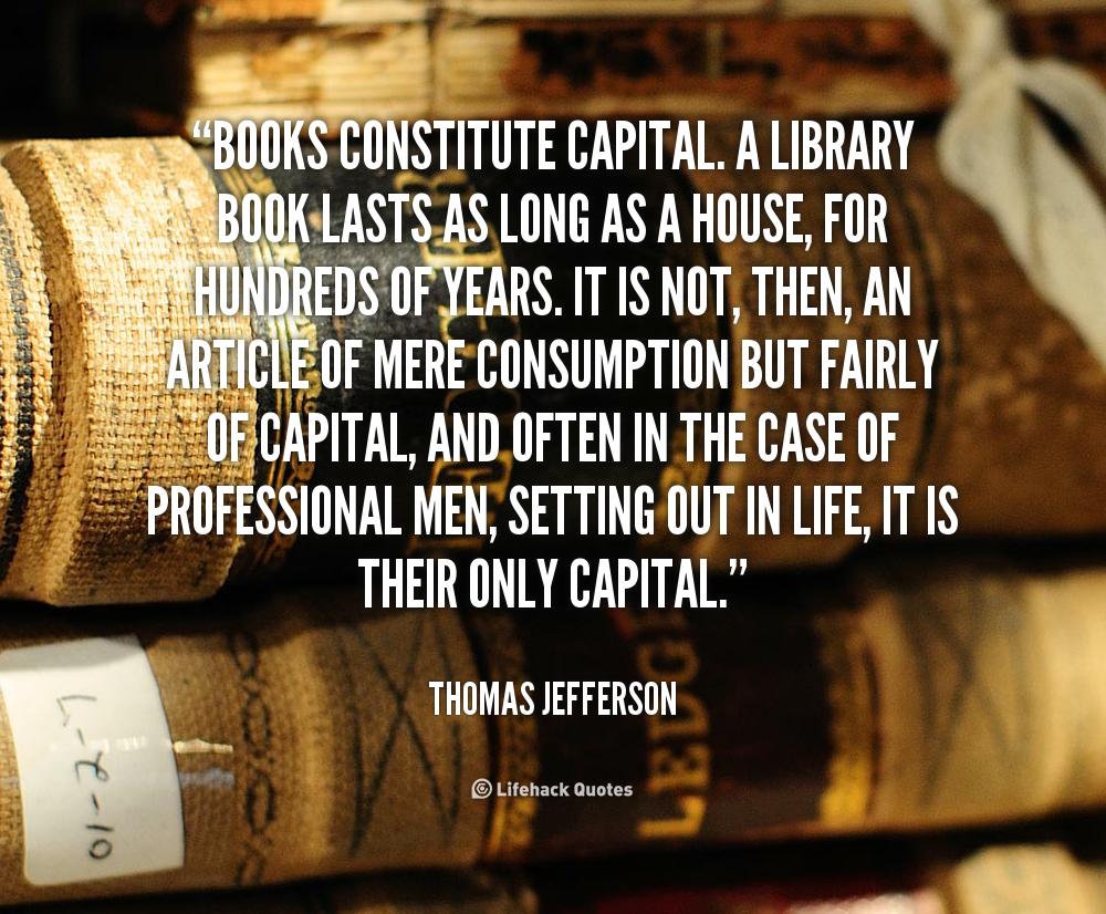Thomas Jefferson Quotes On Books. QuotesGram