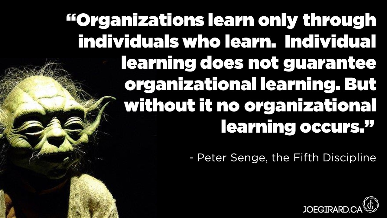 infed.org | The learning organization: principles, theory ...