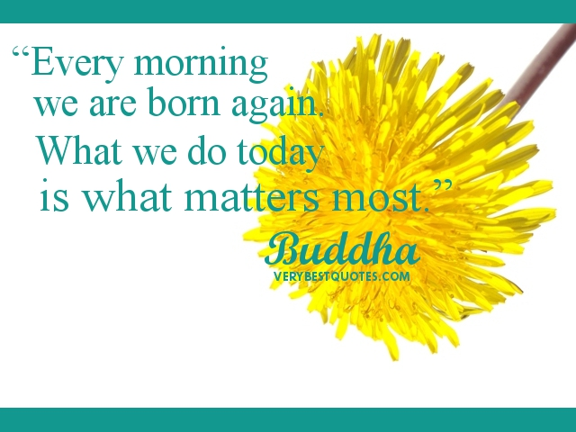 morning buddha quotes quotesgram