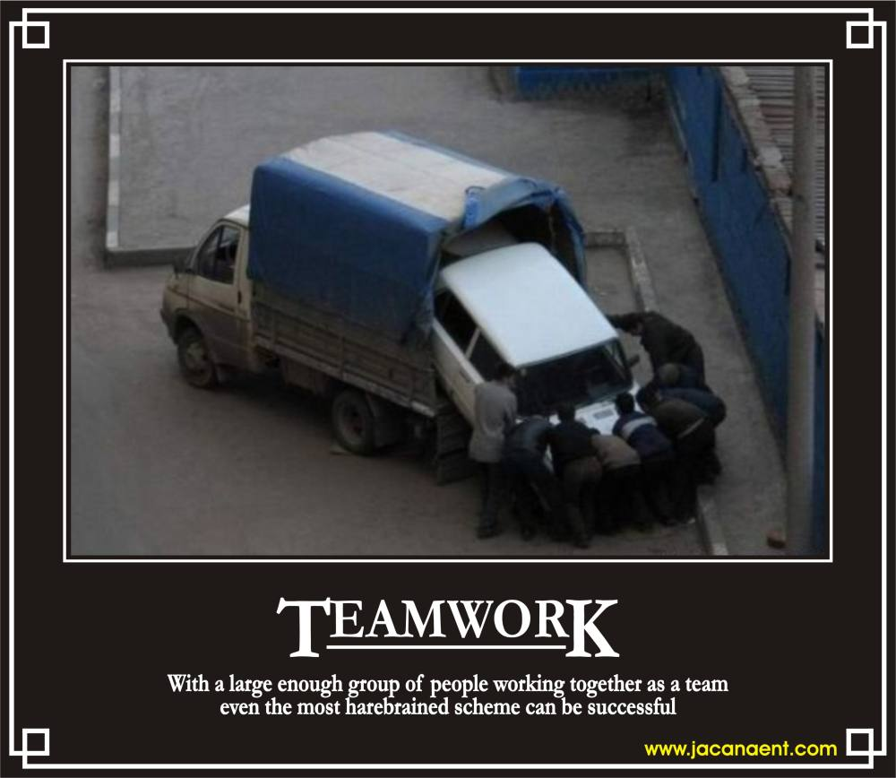 Funny Team Quotes: Funny Quotes About Collaboration. QuotesGram