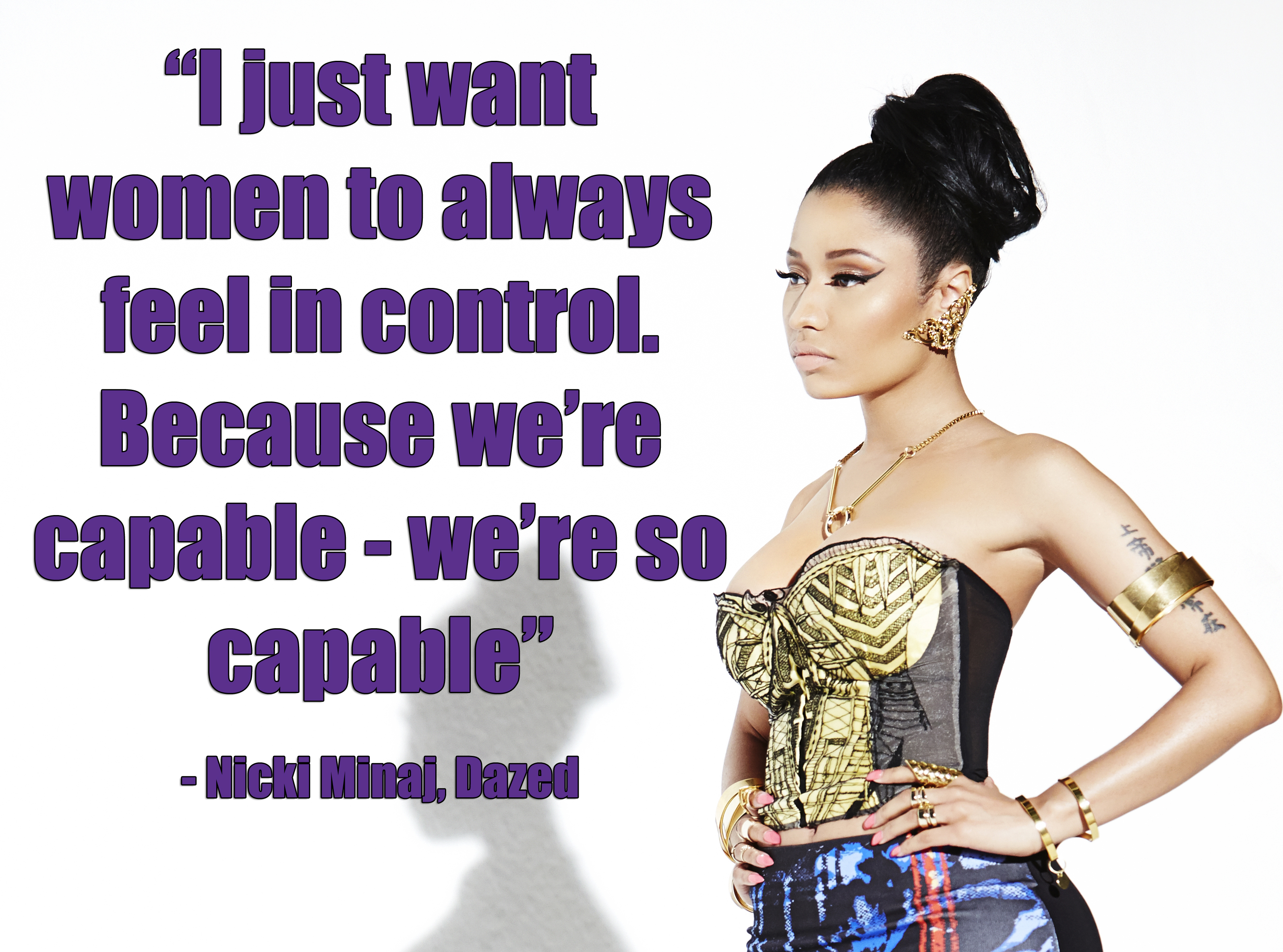 Nicki Minaj Pics With Quotes