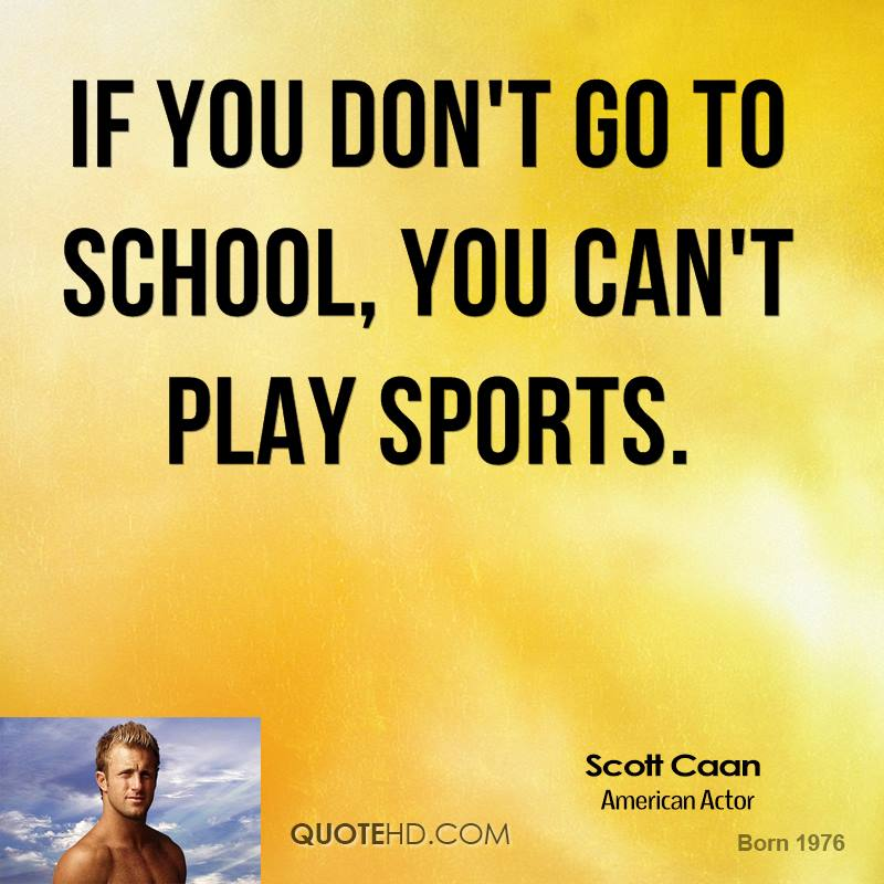 Most Popular Girls In School Quotes: Quotes On Playing Sports. QuotesGram
