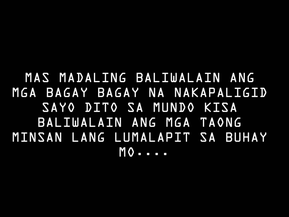 Quotes About Tagalog Friendship Tagalog Quotes About L...