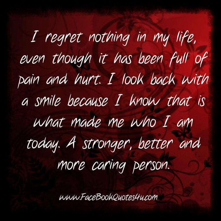 I Regret Tattoo Quotes Quotesgram: Quotes Regret Nothing. QuotesGram