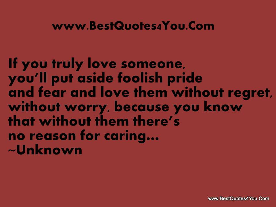 If You Truly Love Someone Quotes. QuotesGram