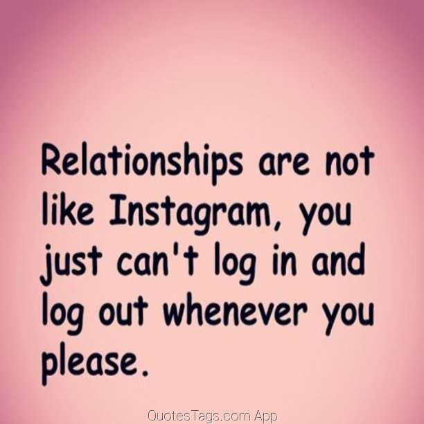 Quotes About Hoes And Relationships Funny Insta Quotes Abo...
