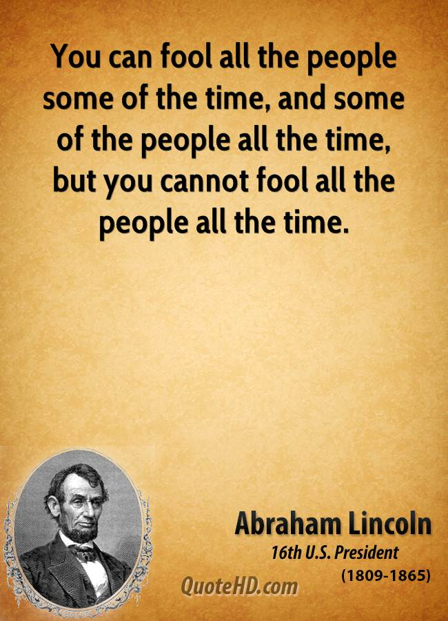Fool Some People Quotes. QuotesGram