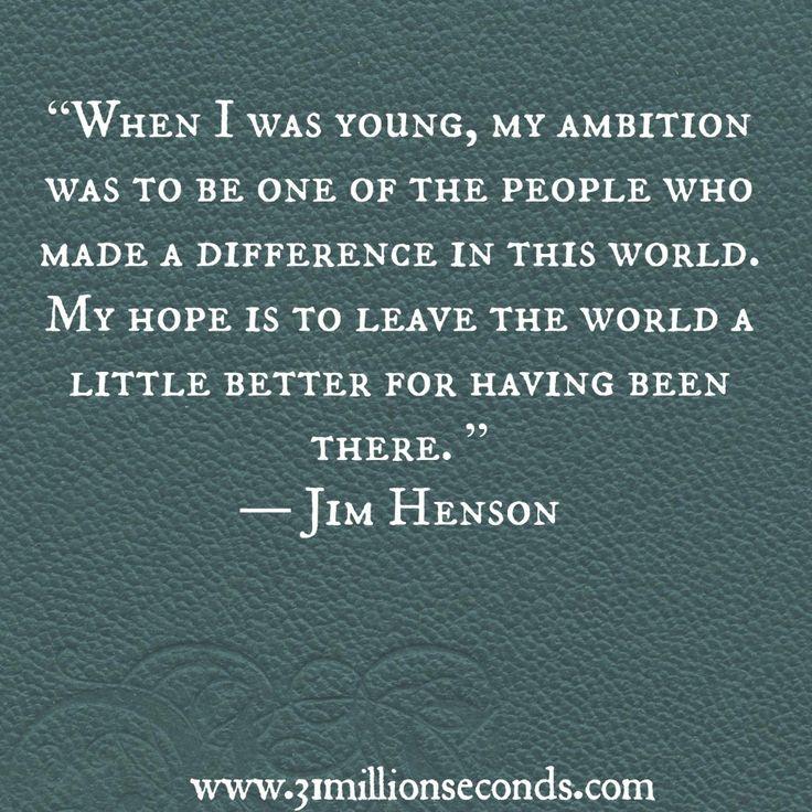 Muppet Quotes Life Quotesgram: Quotes From Jim Henson. QuotesGram