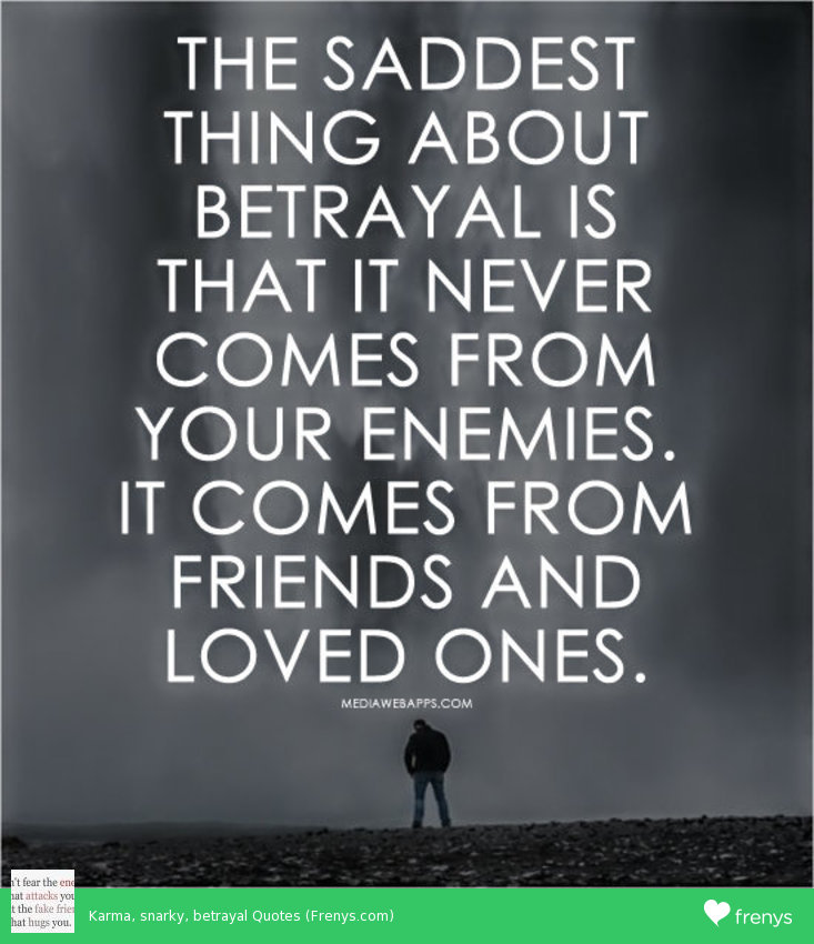 Karma And Revenge Quotes: Quotes About Betrayal And Karma. QuotesGram