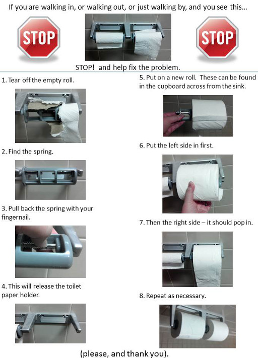 How To Replace A Bathroom Faucet Youtube: Replacing Toilet Paper Quotes. QuotesGram