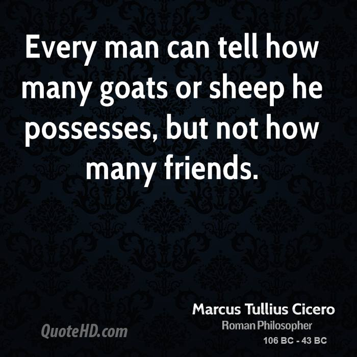 Cicero Friendship Quotes Latin : Cicero quotes on friendship quotesgram