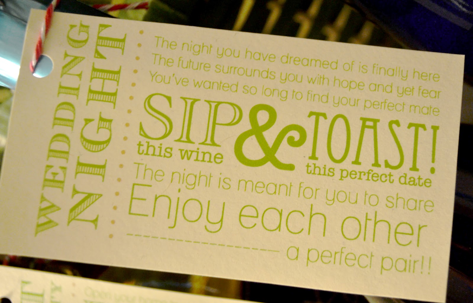 Wedding Shower Gift Sayings : Bridal Shower Gift Tag Quotes. QuotesGram