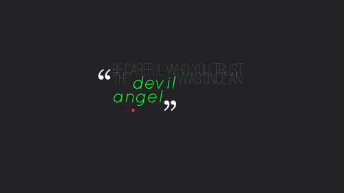 angel and devil quotes - photo #38
