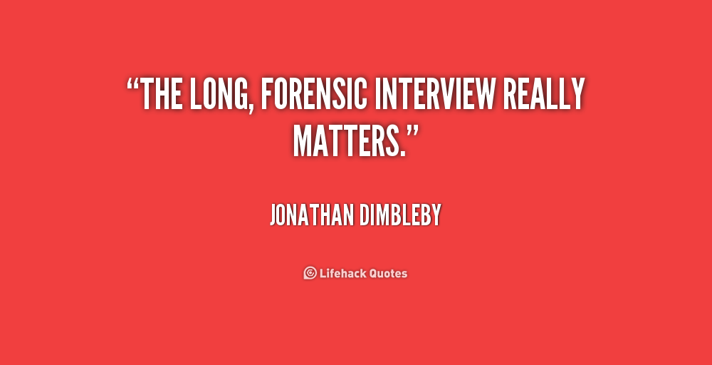 Quotes About Forensics Quotesgram
