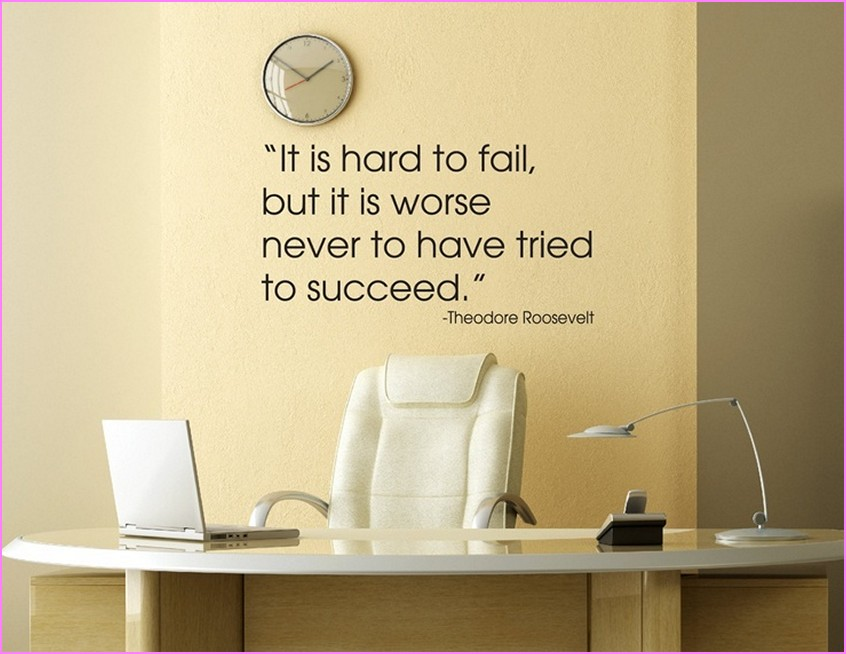 Office Wall Art Quotes Quotesgram