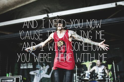 Blessthefall Lyric Quotes. QuotesGram