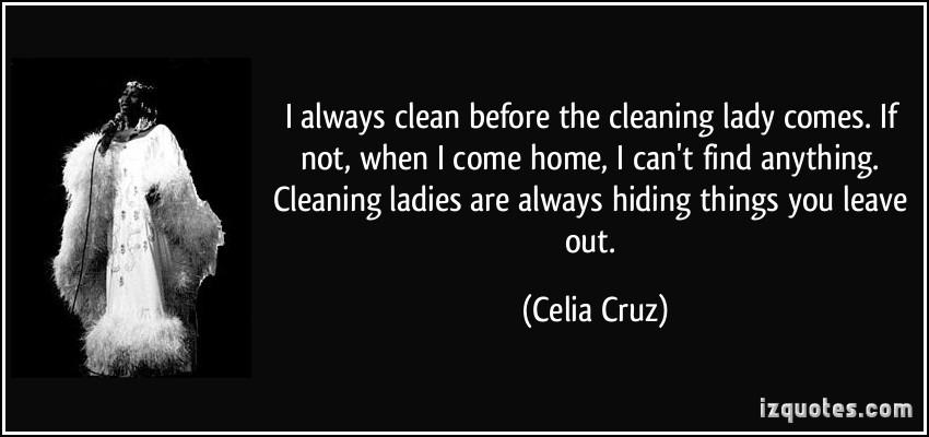 Cleaning Quotes. QuotesGram