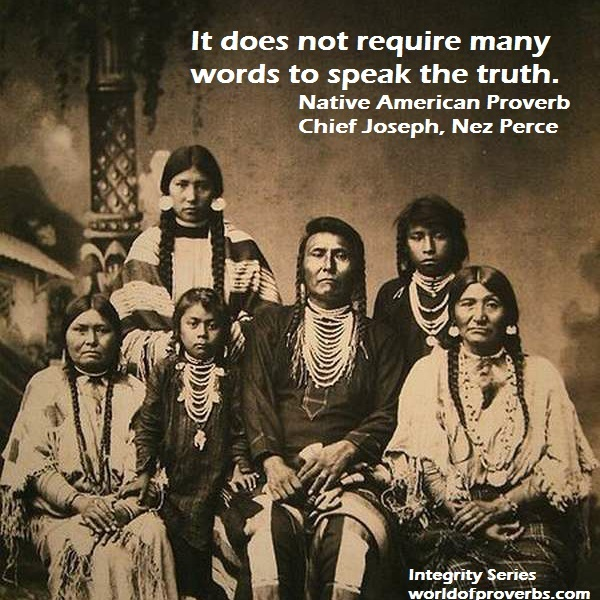 Famous Indian Quotes About Life: Famous Quotes Native American Chief. QuotesGram