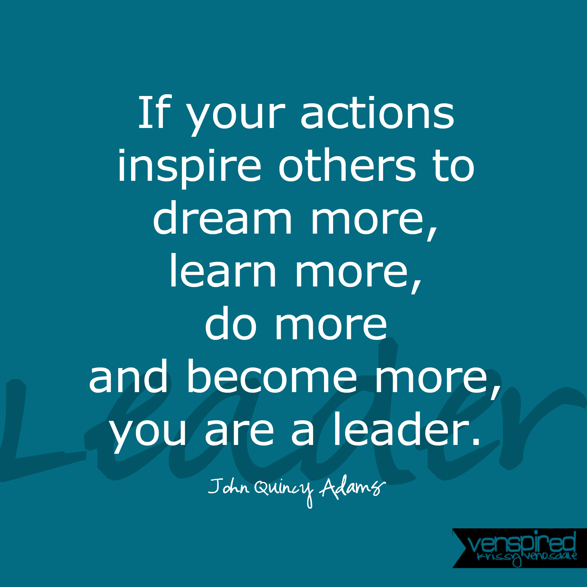 New Leaders – Decide, Empower and Take Action