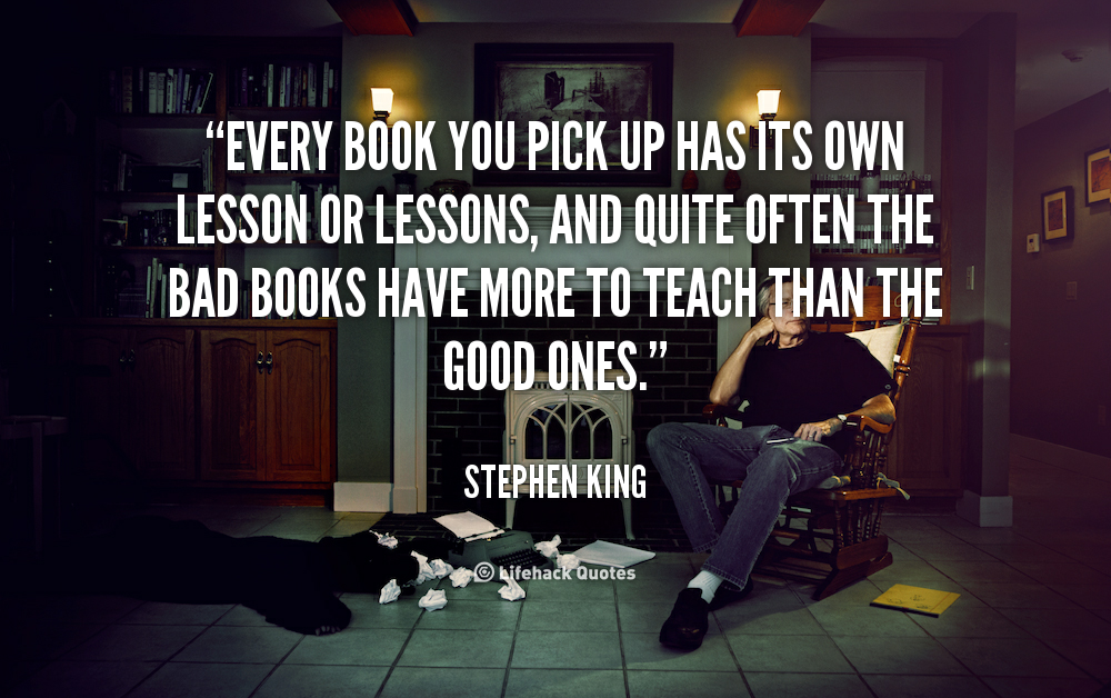 Stephen King Book Quotes. QuotesGram