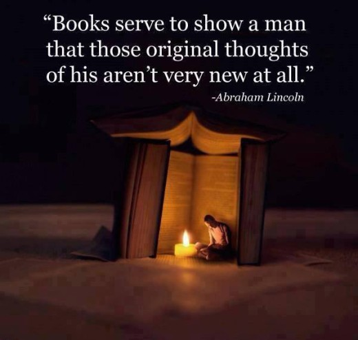 Abe Lincoln Books: Abraham Lincoln Quotes On Books. QuotesGram