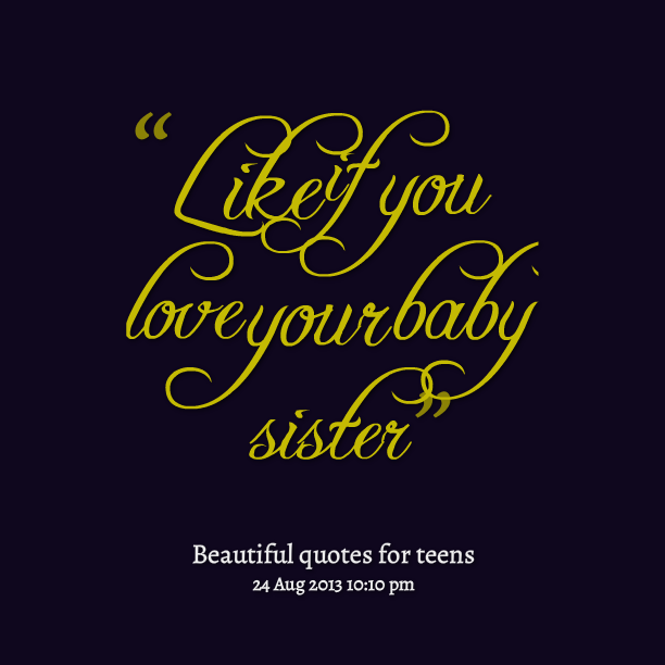 I Love You Quotes: I Love You Like A Sister Quotes. QuotesGram