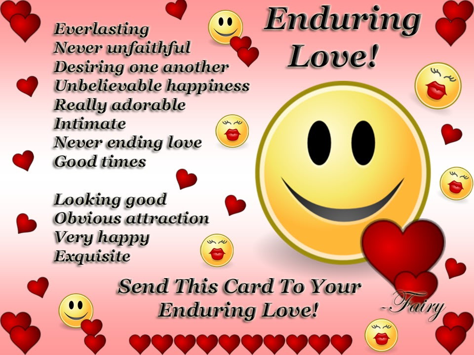 "enduring love quotes Quotes tagged as enduring-love (showing 1-7 of 7) ""love endures and works out ways of enduring the other stuff"" ― jay woodman tags: endurable, endure, enduring-love, love 5 likes like ""it is never easy to endure pain nor uncomfortable situation it is seems easy to quit to avoid the painif you quit you will suffer later."