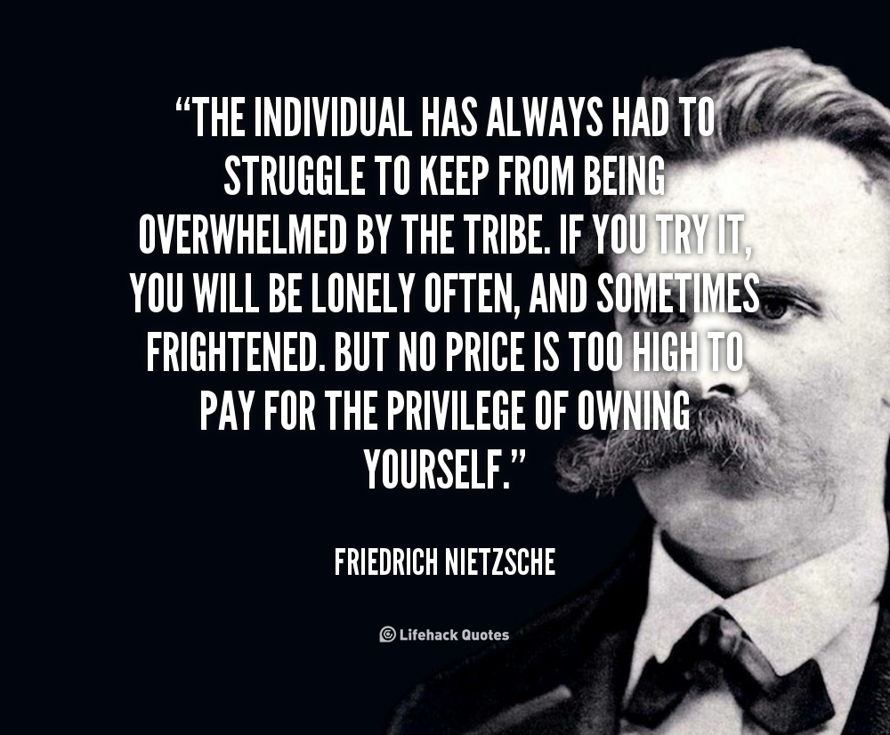 Quotes About Being An Individual. QuotesGram