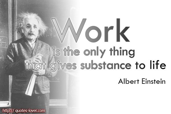 Einstein Work Quote Mousepad | Accessories | Albert Einstein |Einstein Work Quote