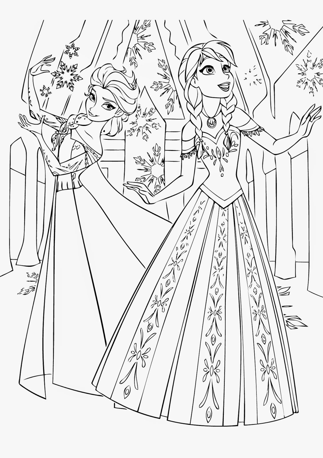 free online coloring pages to print | Quotes Coloring Pages Frozen. QuotesGram