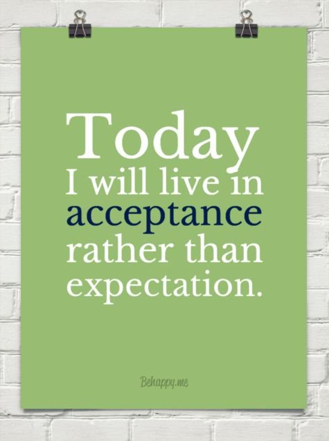 acceptance of others Accept others (especially those who are different than you) for the glory of god because christ accepted you and all peoples for the glory of god verse 7 is the summary of what paul has already said and the topic verse for this final paragraph of this section:.