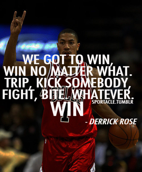 Basketball Championship Quotes: Derrick Rose Quotes About Life. QuotesGram