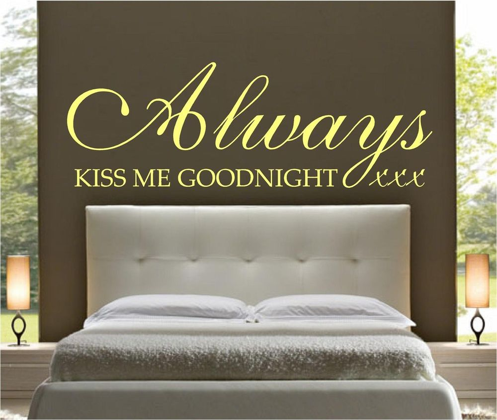Always Kiss Me Goodnight Quotes. QuotesGram