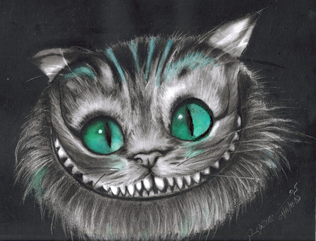 все чеширский кот из алисы в стране чудес картинки карандашом рабочем