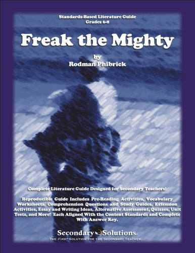 freak the mighty book vs movie essay Freak the mighty compare and contrast the elements of the book, freak the mighty, and the movie, the mighty create a five slide powerpoint that illustrates your ideas each slide must contain a well-written paragr.