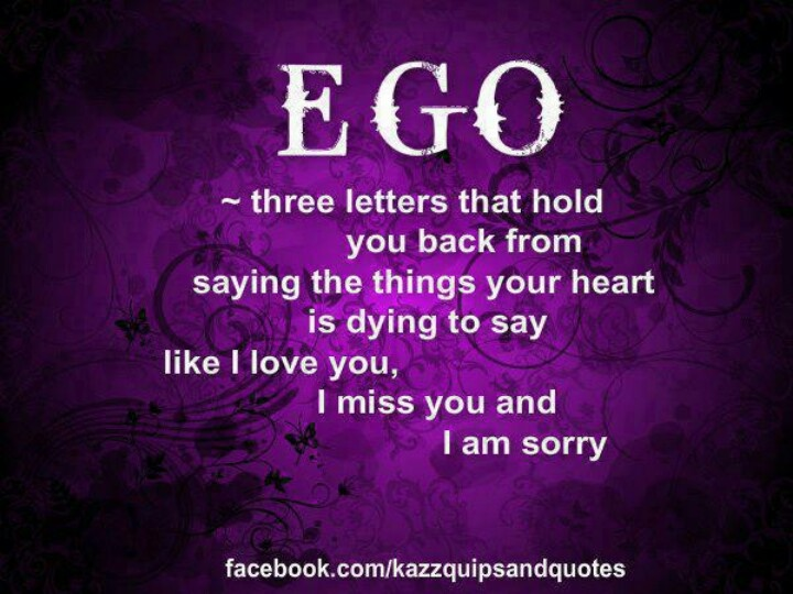Ego Quotes And Sayings. QuotesGram
